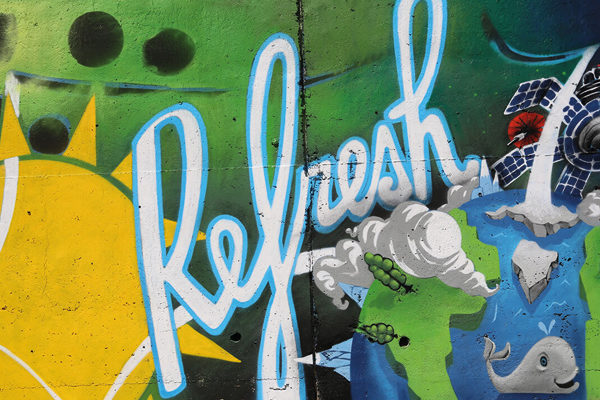"Sprite ""Refresh the City"" Street Art Marketing"
